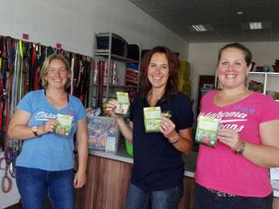 von links: Anja, Mirijam und Steffi, Foto: Waller