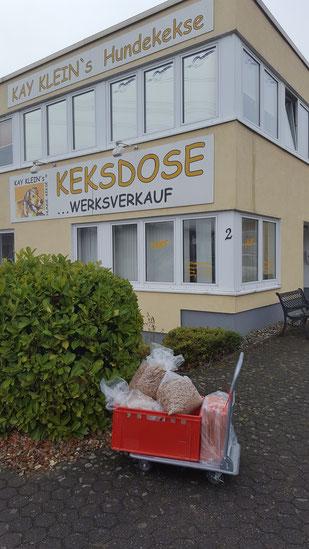 Kay Kleins Hundekeks Manufaktur, Foto: Oetken