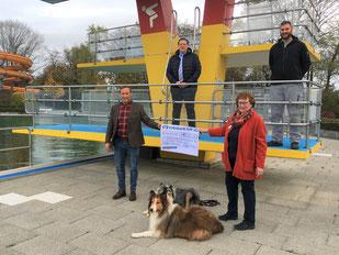Eine wichtige Unterstützung erhielt die Tiertafel RheinErft aus Elsdorf.