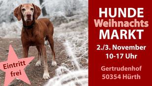 Hundeweihnachtsmarkt Gertrudenhof 2019