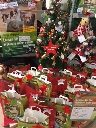 Weihnachtsaktion im Fressnapf Bergheim, Foto: Müdder