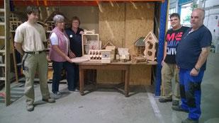 Holzwerkstatt von ASH-Sprungbrett e.V., Foto: Guntermann