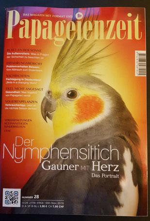 Papageienzeit 10/11 2016