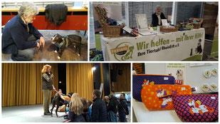 Tiertafel RheinErft auf der 3. Kölner Hundemesse