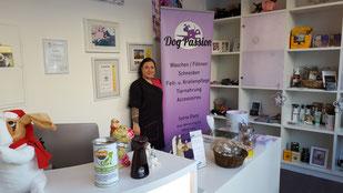 Sylvia Dietz, Inhaberin DogPassion; Foto: Oetken von
