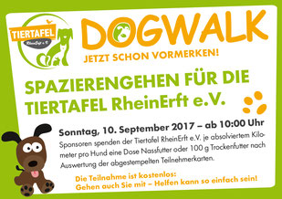 DogWalk 2017 - save the date
