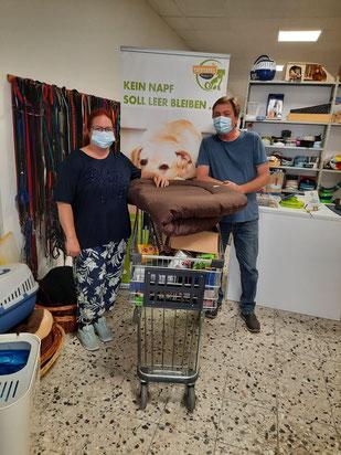Futterspenden für Tiertafel RheinErft e.V.