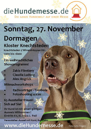 Offizielles Plakat,  Die Hundemesse