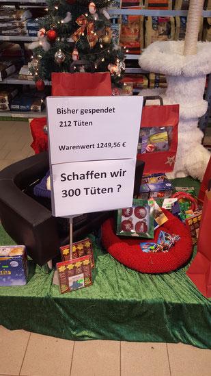 Fressnapf: Schaffen wir 300 Tüten?