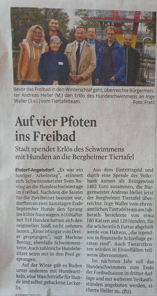 Bericht und Foto: Kölner Stadt-Anzeiger, Fratz