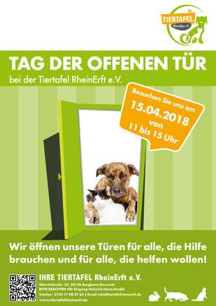 Tag der offenen Tür 2018 - Tiertafel RheinErft