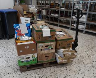 Futter für Kunden die beliefert werden. Foto: Küx