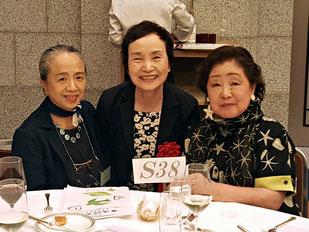 《S38》令和4年の喜寿のお祝いの時には、たくさんの同い年の方々とお会い出来る事を楽しみにしております。