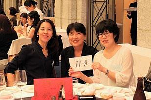 《H9》3人共初めての参加でしたが、食事もおいしくとても楽しい時間を過ごすことができました。来年も宜しくお願いします。H9の皆様、次回は一緒に参加しましょう‼