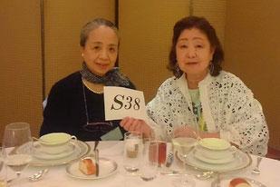 《S38》太田さん姉妹のお顔がここ2年見られずさびしいです。77才の時にはたくさんの皆さんとお会いしたいです。