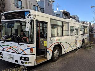 七福神巡りの専用バス