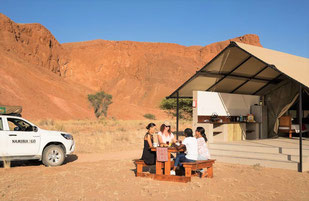 Namibia Sossusvlei Unterkunft im Park