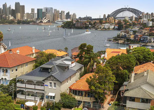 Sydney Hotel Empfehlung: Cremorne Point Manor