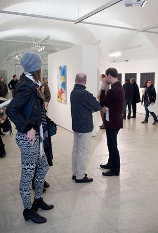 Ausstellungseröffnung EIGHT, Foto: Ulrich Fohler