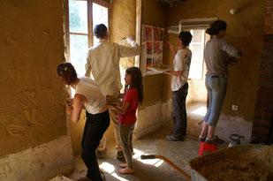 chantier participatif bénévoles volontaires SEL