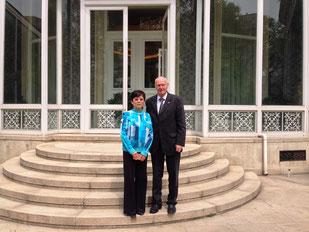 CPAFFC-Präsidentin LI Xiaolin  (10.4.2017)