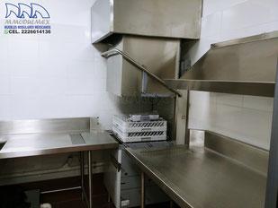 Lavaloza automática de 1000 platos por hora