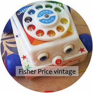jeux et jouets vintage Fisher Price