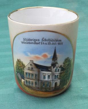 Bild: Wünschendorf 1927 Tasse