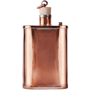 Kaufmann Mercantile Handmade Copper Flask