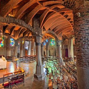 Escursione alla Cripta Gaudí