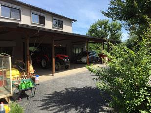 車庫兼倉庫,農機具小屋