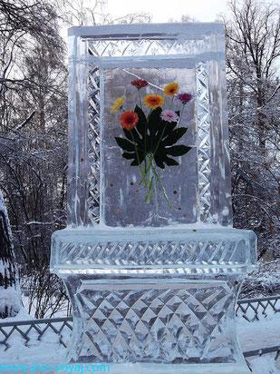 """Ледяная инсталляция в парке """"Сокольники"""""""