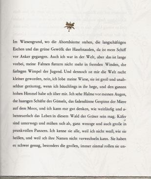 Prägestempel Blattgold Waggerl
