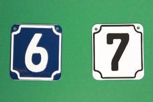 Hausnummern Hausnummer