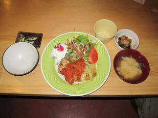 夕食(長衛荘)
