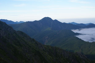 塩見岳     ※日本百名山