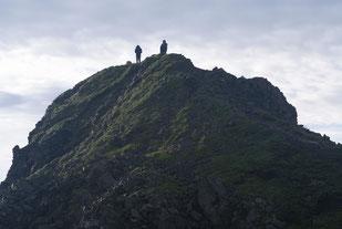 西農鳥岳山頂