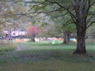徳澤キャンプ場