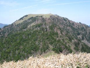 剣山   ※一ノ森山頂より望む