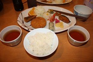 夕食(剣山荘)