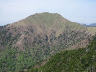 ジロウギュウ  ※一ノ森山頂より望む