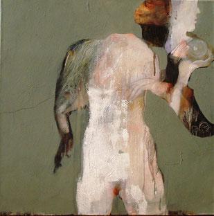 Olio su tela cm 80 x 80 anno 2012