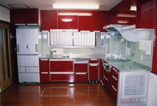 アール工房 キッチン 施工実例