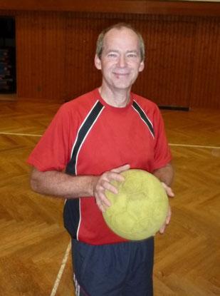Übungsleiter Richard Harter