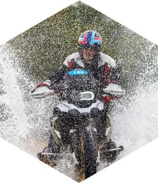 Becker-Tiemann Motorrad Offroad Training in der Driving Arena Wesendorf