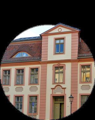 Typenhaus der barocken Altstadt in Potsdam