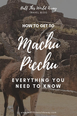 GETTING TO MACHU PICCHU OPTIONS
