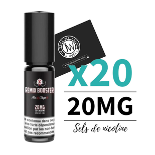 remix booster sel de nicotine