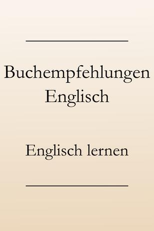 Englisch lernen, englische Bücher. Buchempfehlung, Buchtipps.