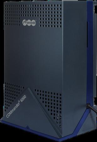 Telefonanlage [ISDN/VoIP] für Wandmontage: Auerswald  COMmander 6000